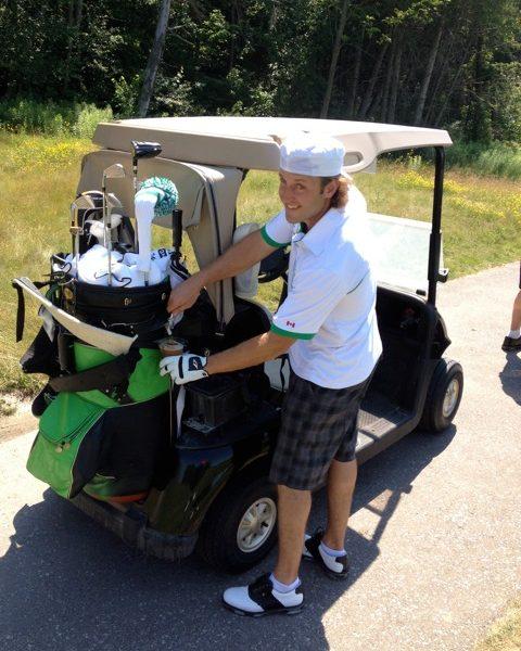draught beer golf bag