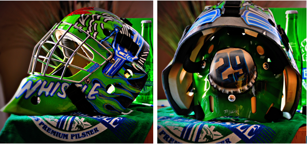 Goalie Mask- Side by Side