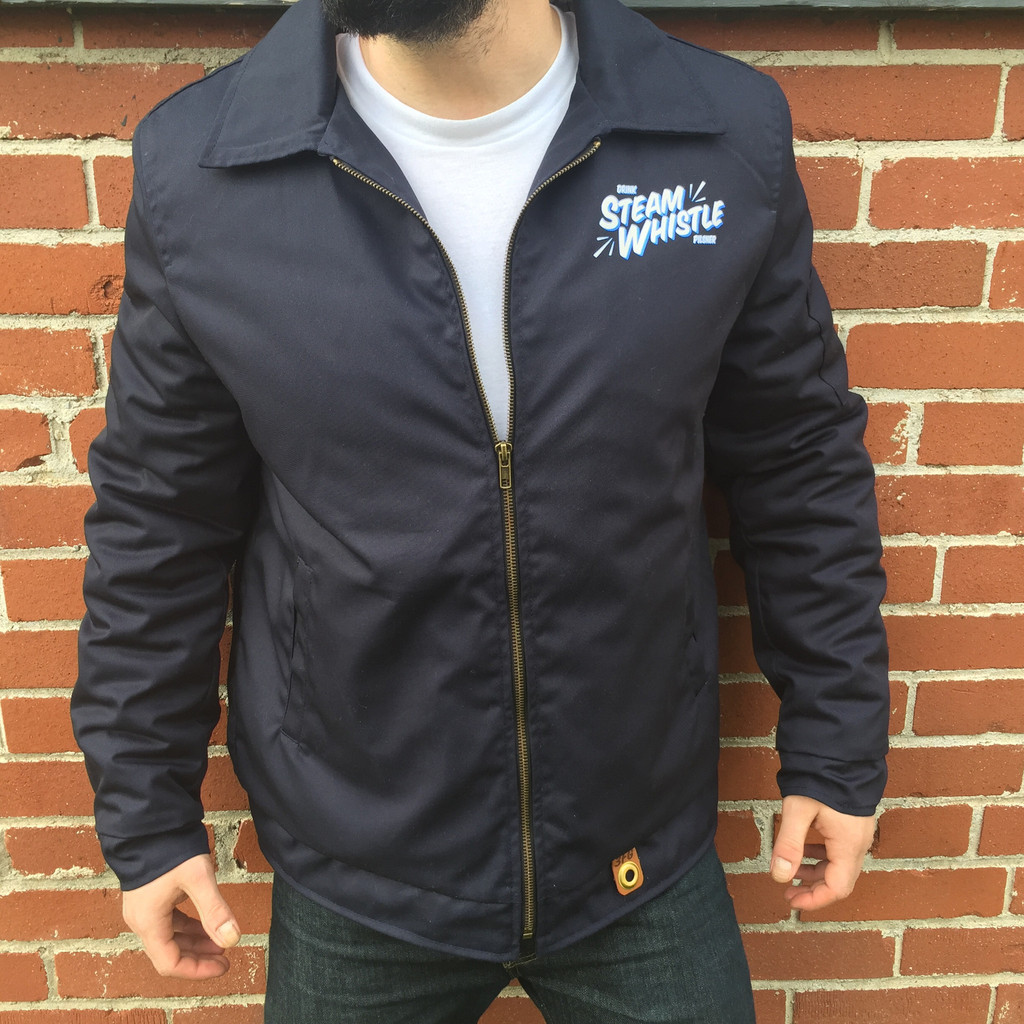 Steam Whistle Retro Garage Jacket
