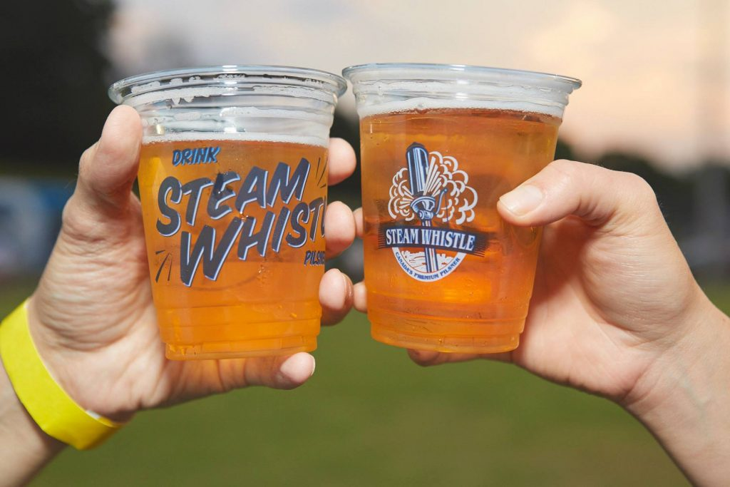 steam whistle cups cheers