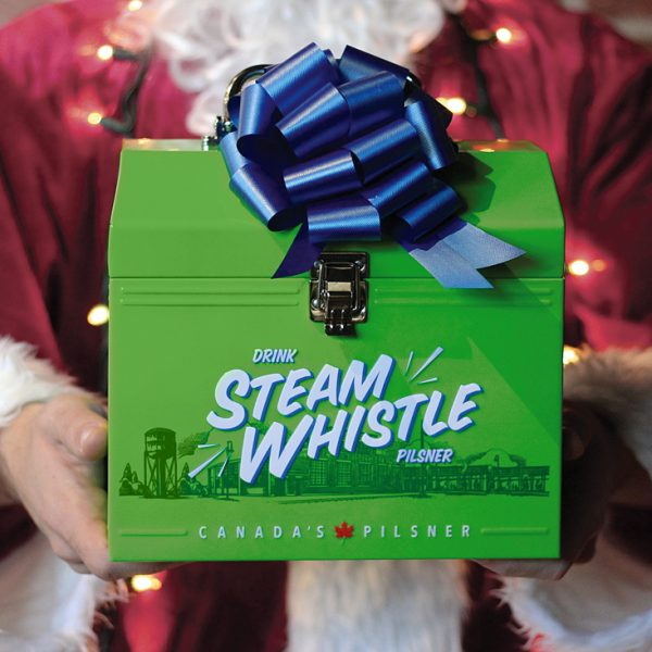 The Steam Whistle Lunchbox is back for the Holidays