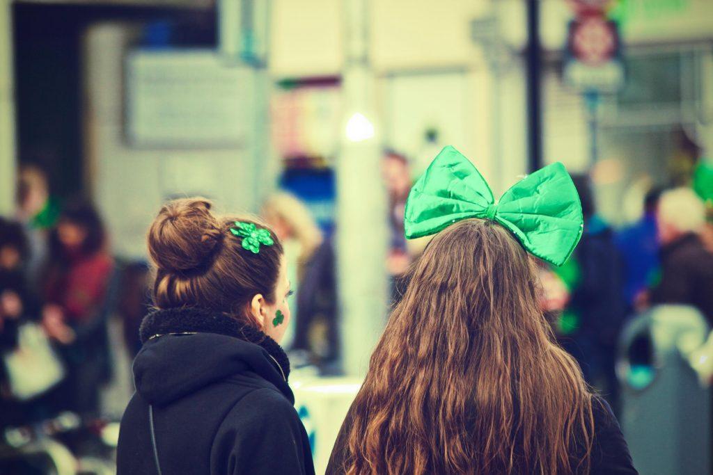 girls ireland st. patrick's day
