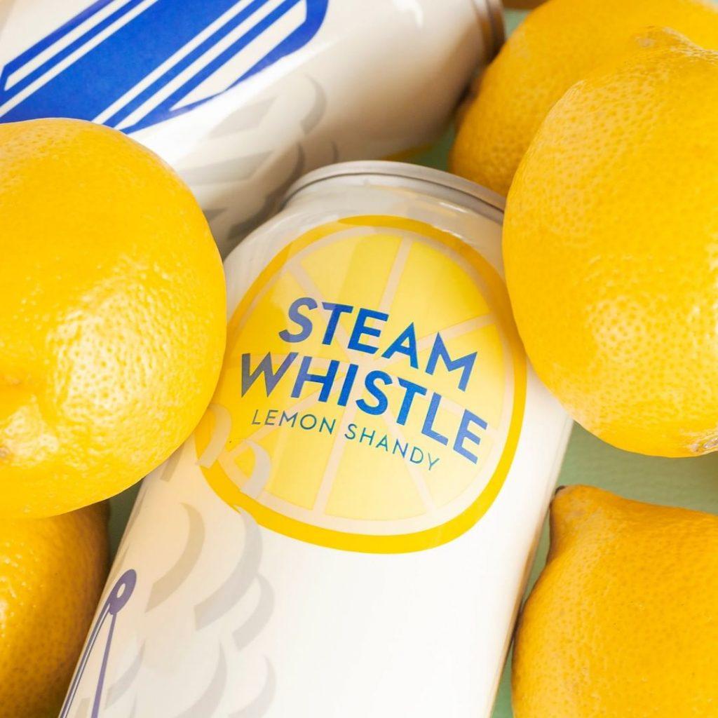 Steam Whistle Lemon Shandy Closeup