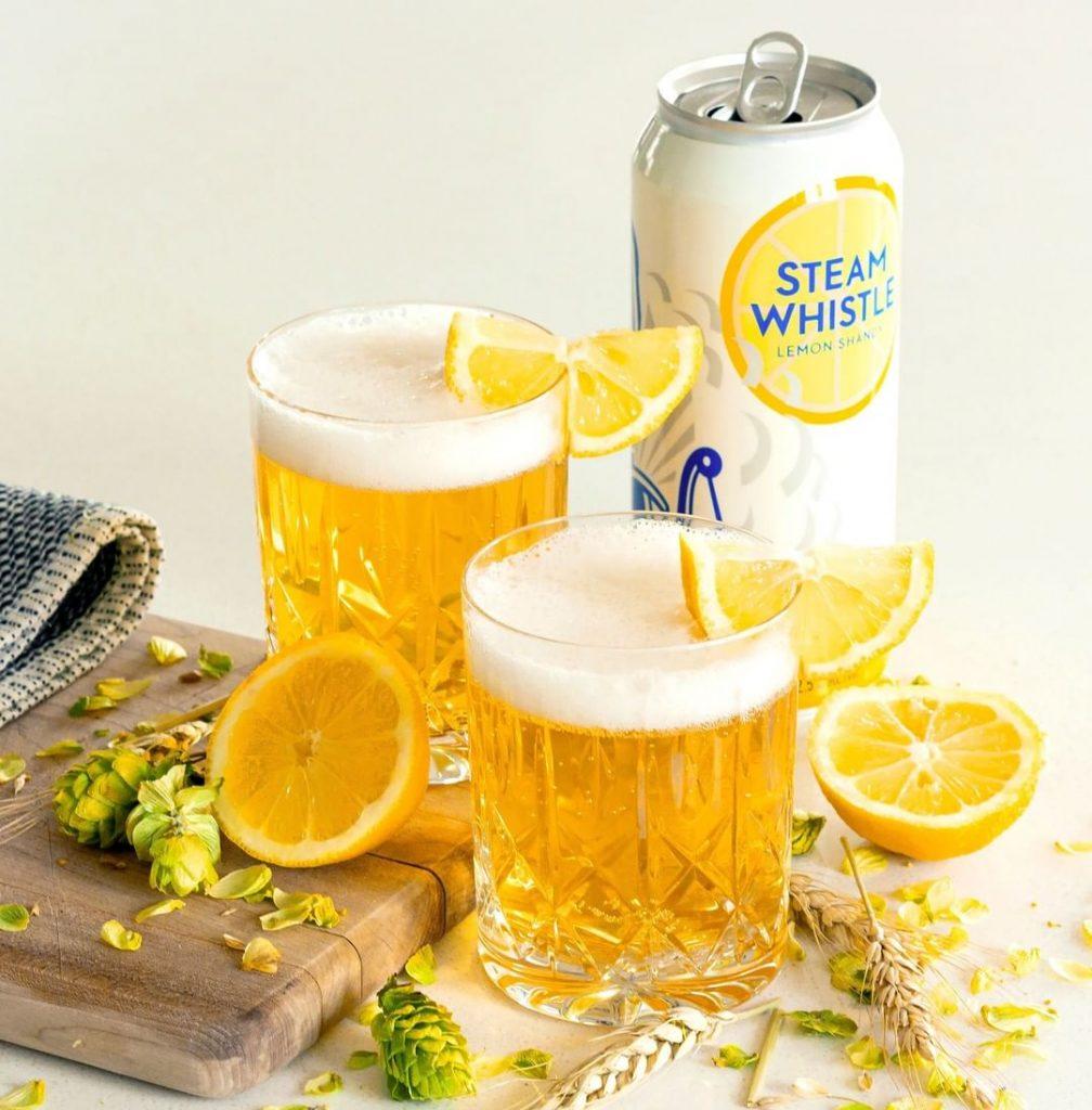 Steam Whistle Lemon Shandy Glass