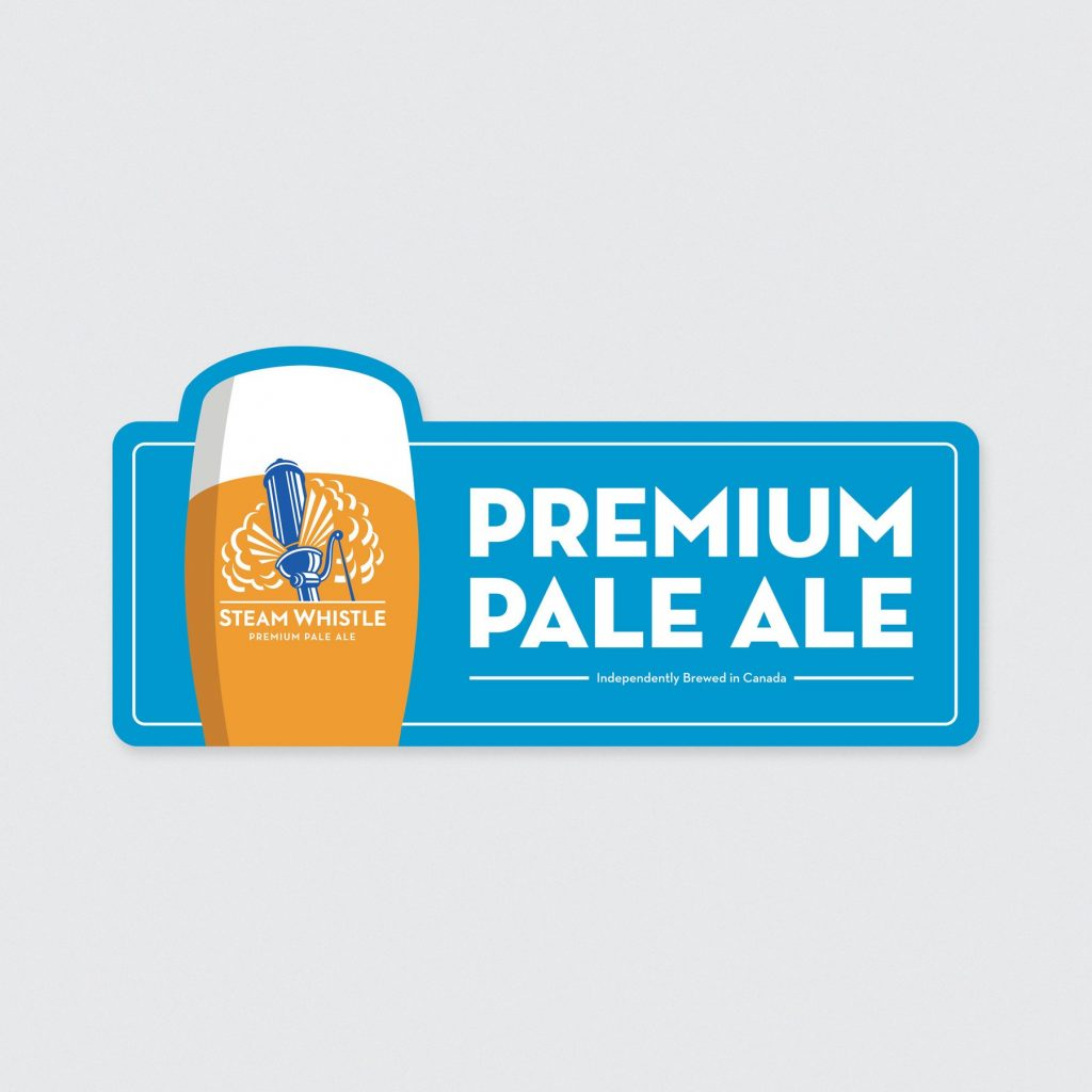 Steam Whistle Pale Ale Tin Wall Sign