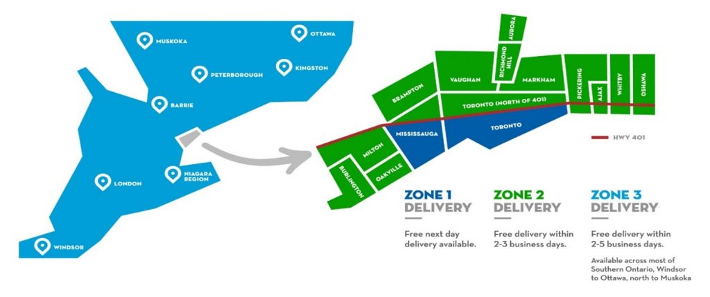 Steam Whistle offers Home Delivery across Ontario. Here are our delivery zones.