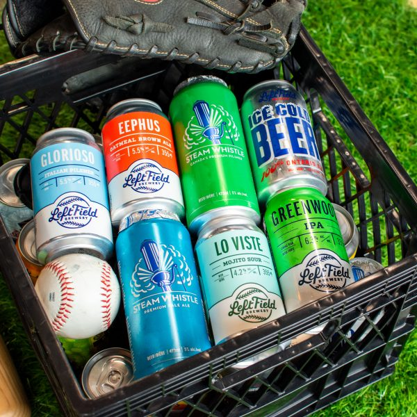 Left Field Brewing comes together with Steam Whistle Brewing to curate the Craft Crate Vol.4