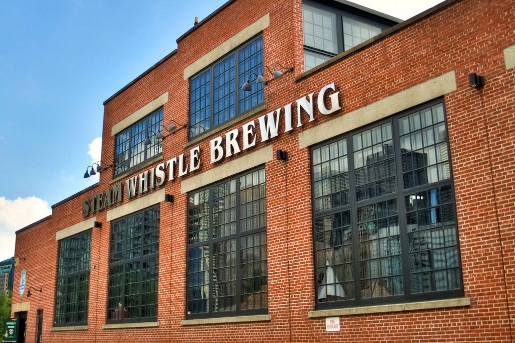 Steam Whistle Brewing Roundhouse