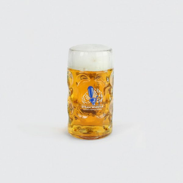 Steam Whistle 1L Glass Beer Stein