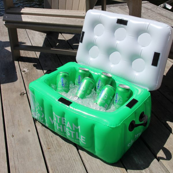 Steam Whistle Inflatable Cooler