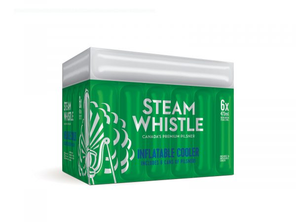 Steam Whistle Inflatable Cooler Pack