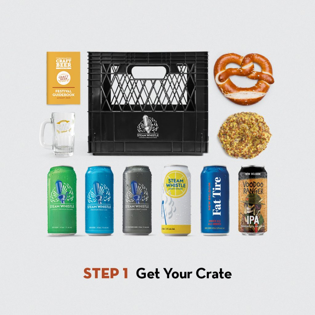 Build Your Crate Step 1