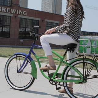 Steam Whistle Brewing's Bike Repair Stations