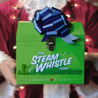 The Steam Whistle Retro Lunchbox Is Back For The Holidays