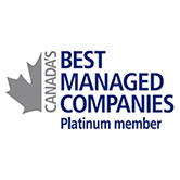 Canada's Best Managed Companies Platinum Member