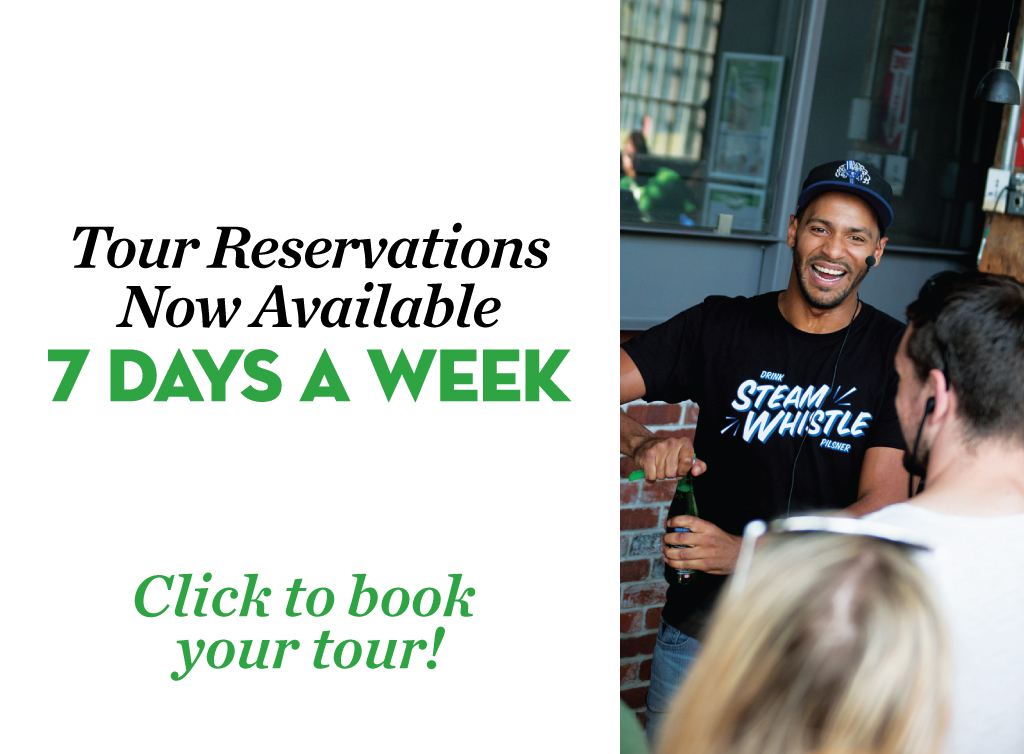 Tour reservations now available 7 days a week. Click to book your tour!