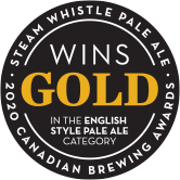 2020 Gold Canadian Brewing Awards Pale Ale