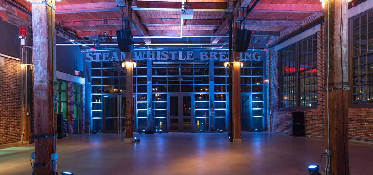 The Roundhouse Hall | Steam Whistle Brewing